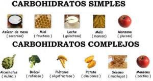 carbohidratos simples y carbohidratos complejos, perder peso